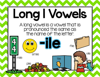 Long Vowel I Word Work {-ile Word Family}