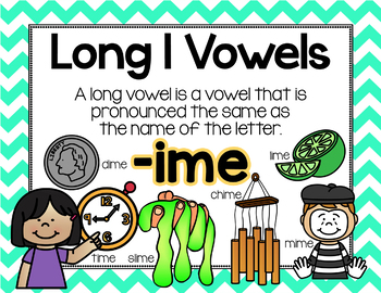 Long Vowel I Word Work {-ime Word Family}