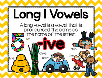 Long Vowel I Word Work {-ive Word Family}