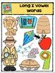 Long Vowel I Words {P4 Clips Trioriginals Digital Clip Art}