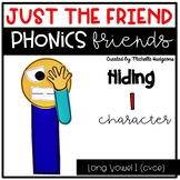 Long Vowel I (cvce) Craftivity, Phonics Friends Character