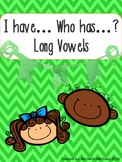 Long Vowel... I have, Who has... Center Activity