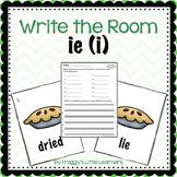Long Vowel IE (i) Write the Room
