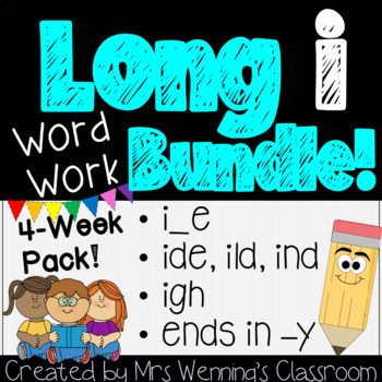Long Vowel Ii, 2 Weeks of Lesson Plans, Activities, and Wo