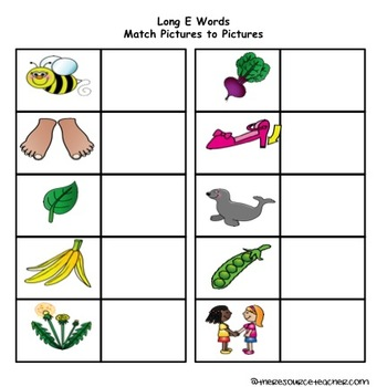 Long Vowel Independent Work Binder