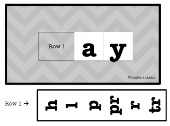 Long Vowel Interactive Journal for Students with Different Abilities