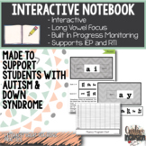 Long Vowel Interactive Journal for Students with Different