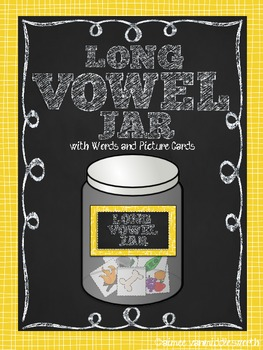 Long Vowel Jar for Workstations and Centers