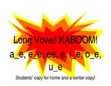 Long Vowel KABOOM!