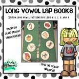 Long Vowel Lap Books for Common Long Vowel Patterns