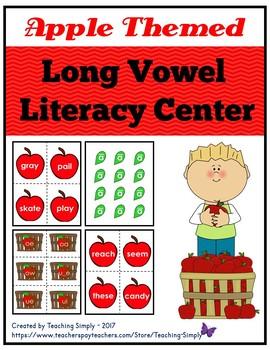 Long Vowel Literacy Center