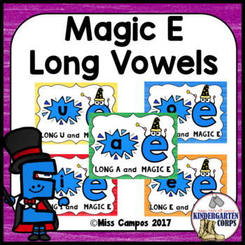 Long Vowel Magic E Posters