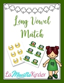 Long Vowel Match St. Patrick's Day
