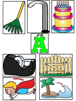 Long Vowel Match Up - Literacy Center Activity