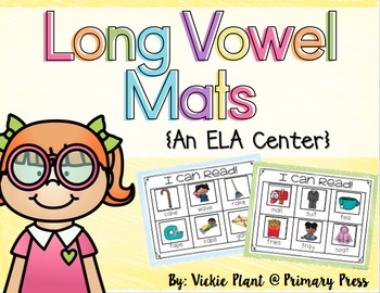 Long Vowel Mats Literacy Center