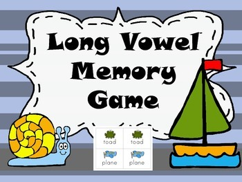 Long vowels Memory Game