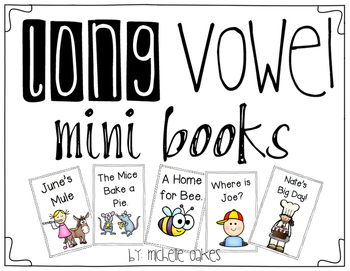 Long Vowel Mini Books
