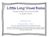 Long Vowel Mini Books for Student Creation (Reading Street