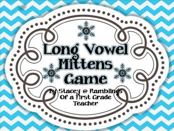 Long Vowel Mitten Game