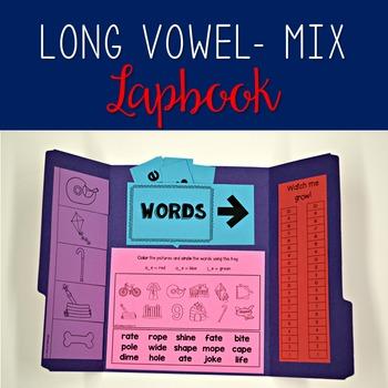 Long Vowel Mix Lapbook