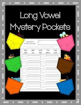 Long Vowel Mystery Pockets