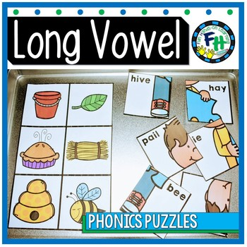 Long Vowel Mystery Puzzles