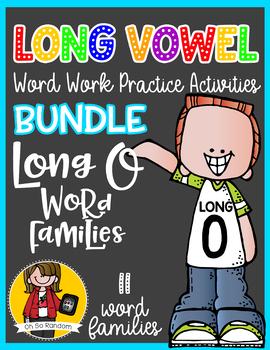 Long Vowel O Word Work {BUNDLE Word Family}