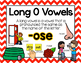 Long Vowel O Word Work {-ose Word Family}