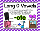 Long Vowel O Word Work {-ote Word Family}