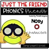 Long Vowel O (cvce) Craftivity, Phonics Friends Character