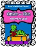 Long Vowel~Onset & Rime Cards