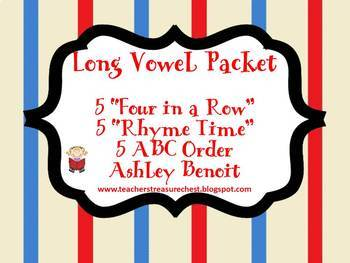 Long Vowel Packet {15 Centers}