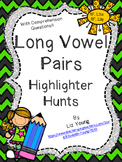 Long Vowel Pairs Highlighter Hunts