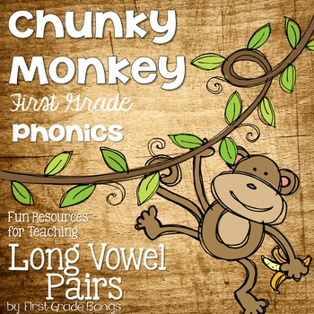 Long Vowel Pairs- Teaching Resources and Literacy Centers