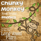 Long Vowel Pairs- Phonics Unit, Word Work and Literacy Cen