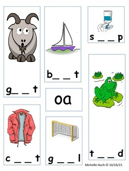 Long Vowel Pattern Flip Books and Activity Sheets