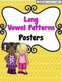 Long Vowel Pattern Posters