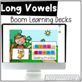 Long Vowel Patterns - BOOM CARDS™ - Distance Learning