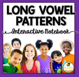 Long Vowel Patterns Interactive Notebook