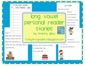 Long Vowel Personal Reader Stories