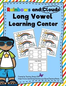 Long Vowel Phonics Center