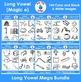 Long Vowel Phonics Clip Art Mega Bundle