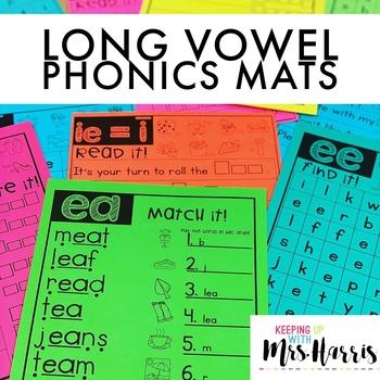 Long Vowel Phonics Mats