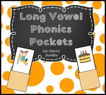 Long Vowel Phonics Pockets