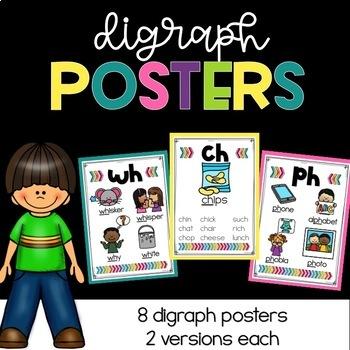 Phonics Posters Diagraphs