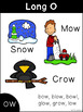 Long Vowel Phonics Posters and Word Cards