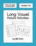 Long Vowel Picture Activities
