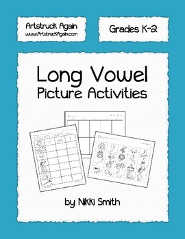 Long Vowel Picture Activities