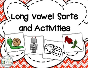 Long Vowel Picture Sort and Activities