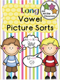 Long Vowel Picture Sorts